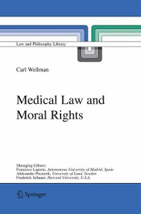Cover Medical Law and Moral Rights