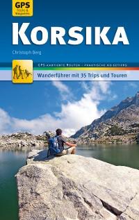 Cover Korsika Wanderführer Michael Müller Verlag