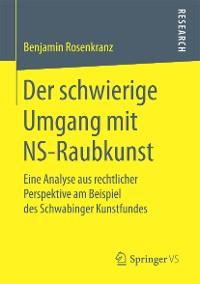 Cover Der schwierige Umgang mit NS-Raubkunst