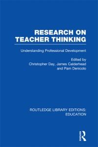 Cover Research on Teacher Thinking (RLE Edu N)
