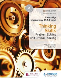 Cover Cambridge International AS & A Level Thinking Skills
