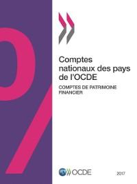 Cover Comptes nationaux des pays de l'OCDE, Comptes de patrimoine financier 2017