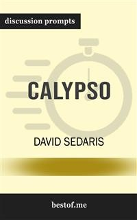 "Cover Summary: ""Calypso"" by David Sedaris 