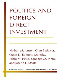 Cover Politics and Foreign Direct Investment
