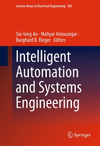 Cover Intelligent Automation and Systems Engineering