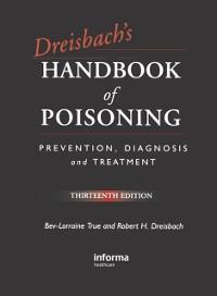 Cover Dreisbach's Handbook of Poisoning