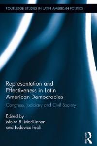 Cover Representation and Effectiveness in Latin American Democracies