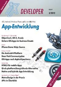 Cover iX Developer App-Entwicklung