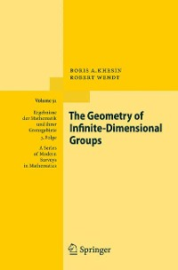 Cover The Geometry of Infinite-Dimensional Groups
