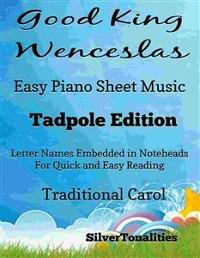 Cover Good King Wenceslas Easy Piano Sheet Music Tadpole Edition