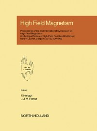 Cover High Field Magnetism