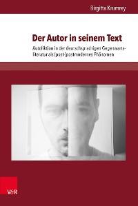 Cover Der Autor in seinem Text
