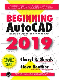Cover Beginning AutoCAD® 2019 Exercise Workbook