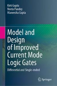 Cover Model and Design of Improved Current Mode Logic Gates