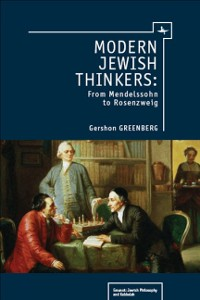 Cover Modern Jewish Thinkers