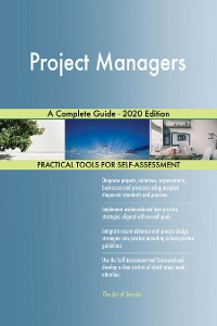 Cover Project Managers A Complete Guide - 2020 Edition