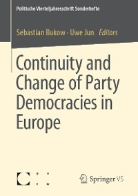 Cover Continuity and Change of Party Democracies in Europe
