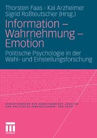 Cover Information - Wahrnehmung - Emotion