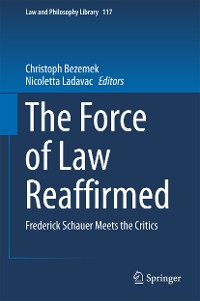 Cover The Force of Law Reaffirmed