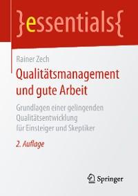 Cover Qualitätsmanagement und gute Arbeit