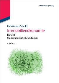 Cover Immobilienökonomie