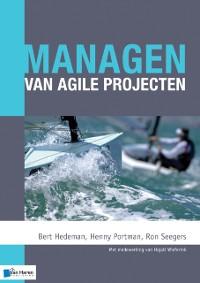 Cover Managen van agile projecten