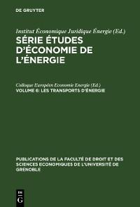 Cover Les Transports d'Énergie