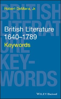 Cover British Literature 1640-1789