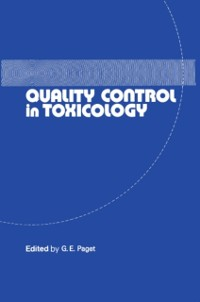 Cover Quality Control in Toxicology