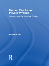 Cover Human Rights and Private Wrongs