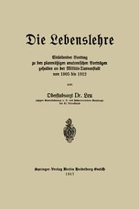 Cover Die Lebenslehre