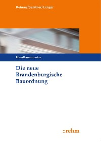 Cover Die neue Brandenburgische Bauordnung