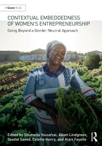 Cover Contextual Embeddedness of Women's Entrepreneurship