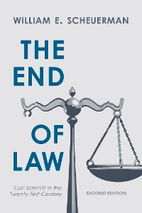 Cover The End of Law