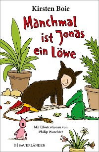 Cover Manchmal ist Jonas ein Löwe