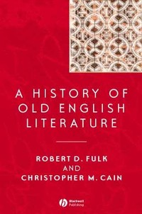 Cover A History of Old English Literature