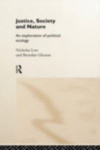 Cover Justice, Society and Nature
