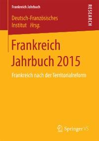 Cover Frankreich Jahrbuch 2015