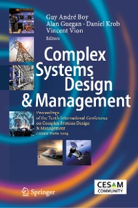 Cover Complex Systems Design & Management
