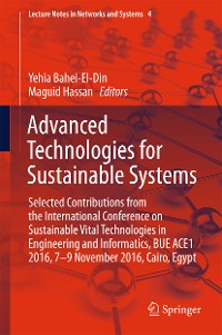 Cover Advanced Technologies for Sustainable Systems