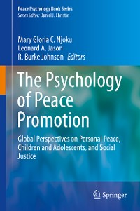 Cover The Psychology of Peace Promotion