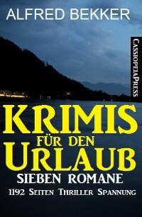 Cover Krimis für den Urlaub