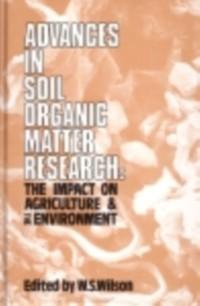 Cover Advances in Soil Organic Matter Research