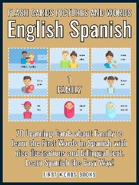 Cover 1 - Family - Flash Cards Pictures and Words English Spanish