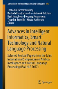 Cover Advances in Intelligent Informatics, Smart Technology and Natural Language Processing