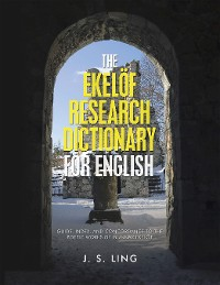 Cover The Ekelöf Research Dictionary for English