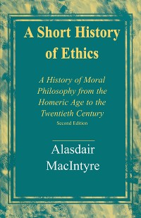 Cover A Short History of Ethics