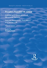 Cover People's Republic of China, Volumes I and II