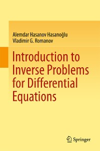 Cover Introduction to Inverse Problems for Differential Equations