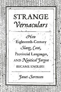 Cover Strange Vernaculars